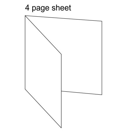 Diagram 4 Page Sheet