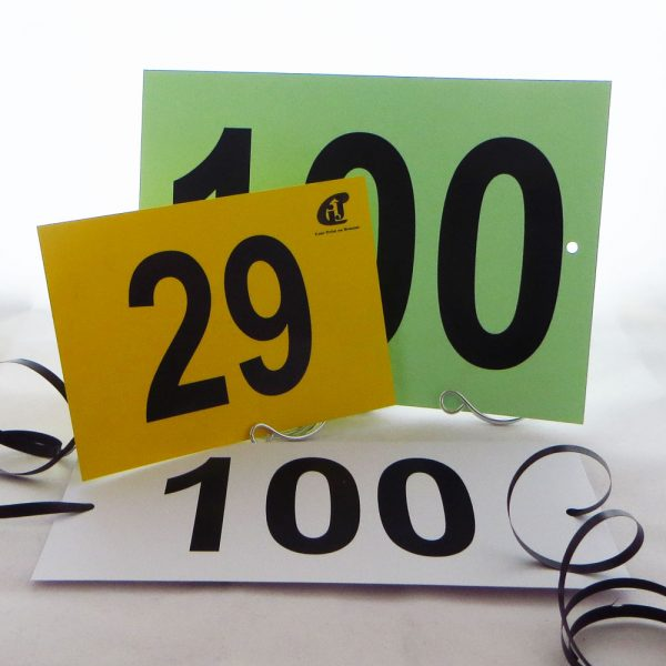 Horse Show Numbers