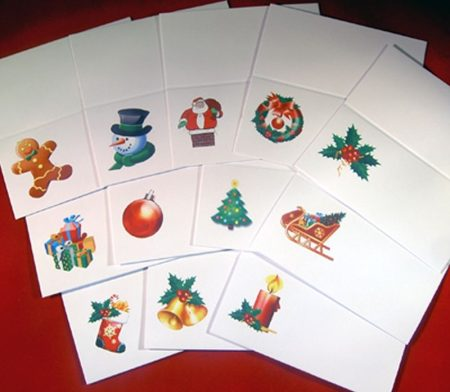 Festive Place Cards Mixed