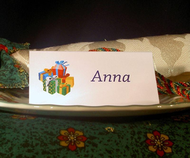 Example Christmas Presents