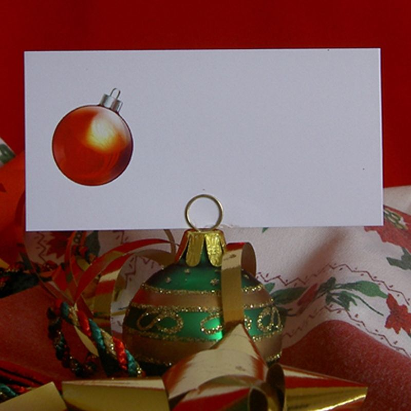 Example Christmas Bauble