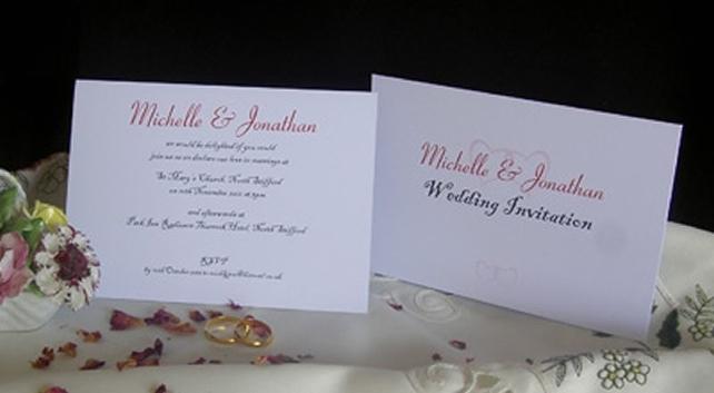 Personalised Wedding Invitations Civil Ceremony Invites