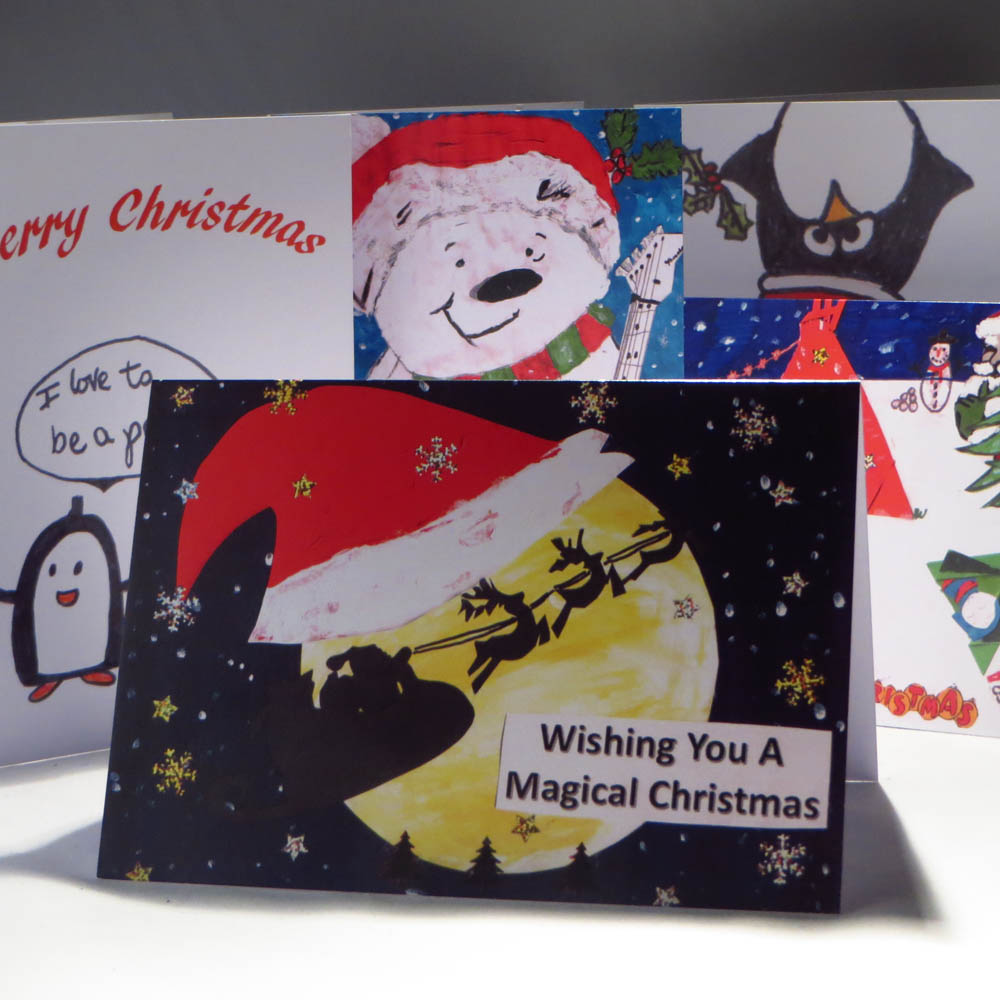 Kids Design Your Own Christmas Cards