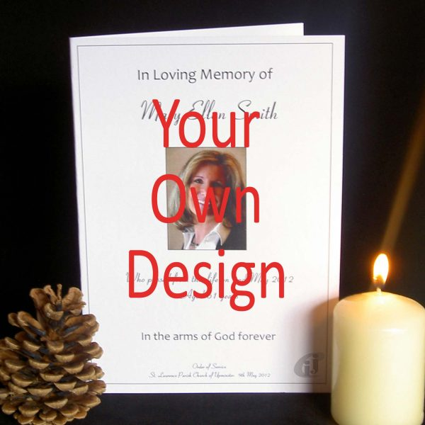 Funeral Order of Service Your Design