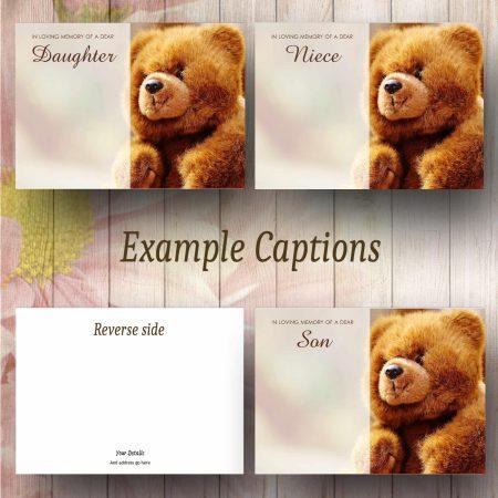 Teddy Text Example