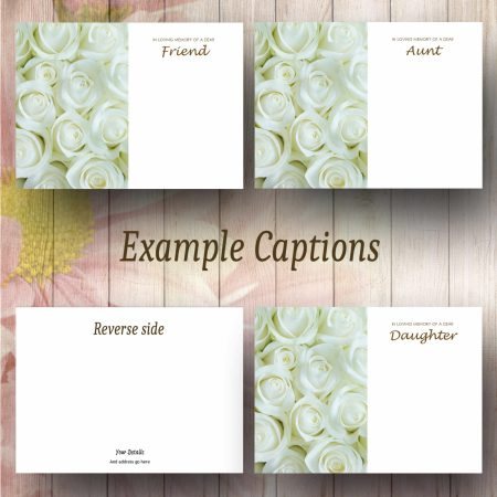 White Roses Text Example
