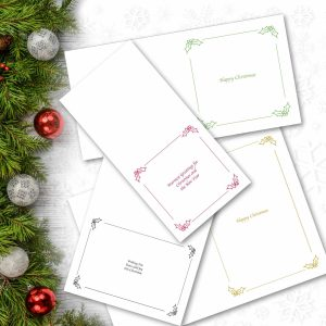 Christmas Card Text Inserts