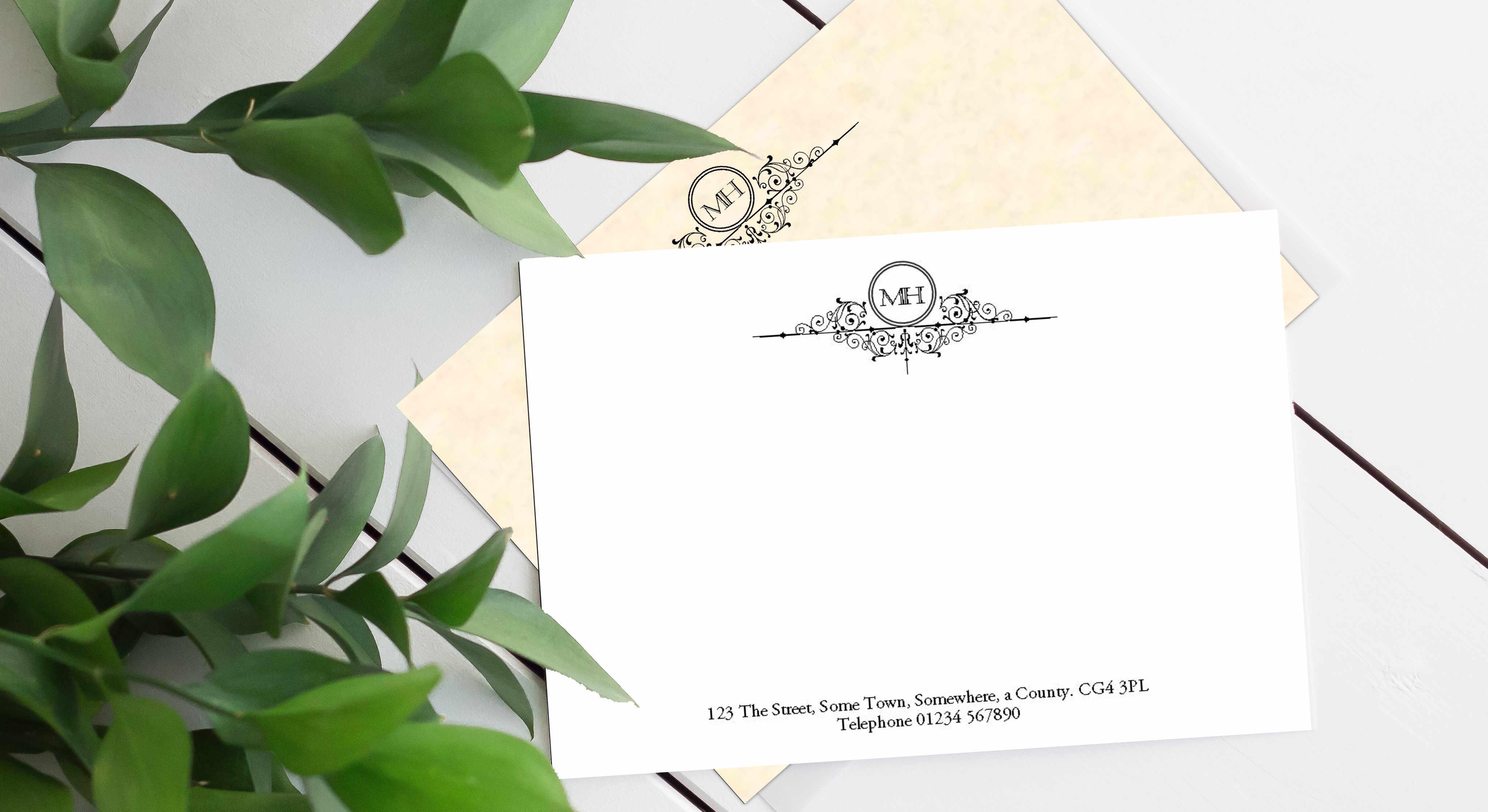 Correspondence Cards