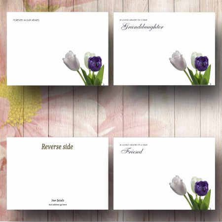 Corner Tulips Florist Message Card Text Examples