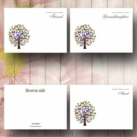 Butterfly Tree Florist Message Card Text Examples